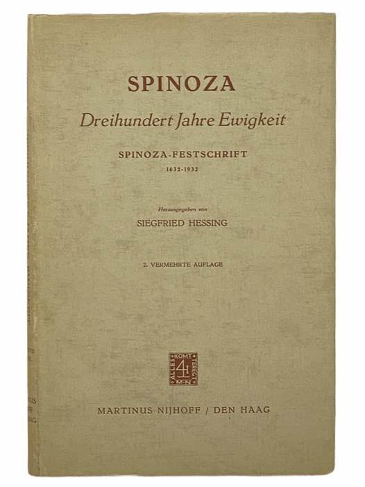 Image for Spinoza: Dreihundert Jahre Ewigkeit Spinoza--Festschrift, 1632-1932 [GERMAN TEXT]