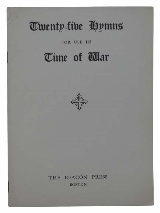 Image for Twenty-Five Hymns for Use in Time of War