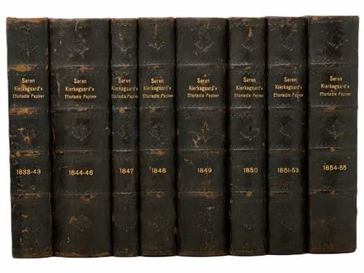 Image for Af Soren Kierkegaards Efterladte Papirer [in Eight Volumes]: 1833-1843; 1844-1846; 1847; 1848; 1849; 1850; 1851-1853; 1854-1855.