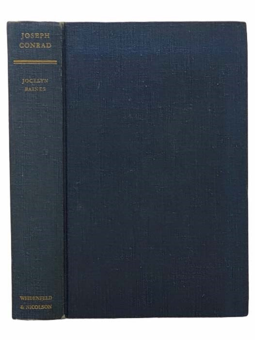 Image for Joseph Conrad: A Critical Biography