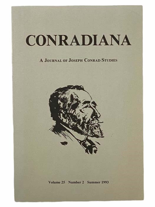Image for Conradiana: A Journal of Joseph Conrad Studies (Volume 25, Number 2, Summer 1993)