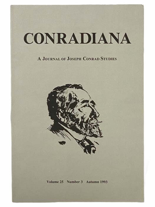 Image for Conradiana: A Journal of Joseph Conrad Studies (Volume 25, Number 3, Autumn 1993)