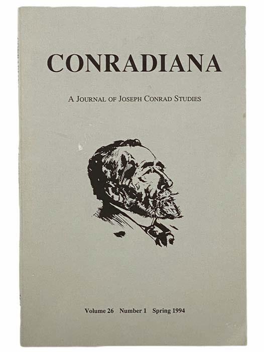 Image for Conradiana: A Journal of Joseph Conrad Studies (Volume 26, Number 1, Spring 1994)