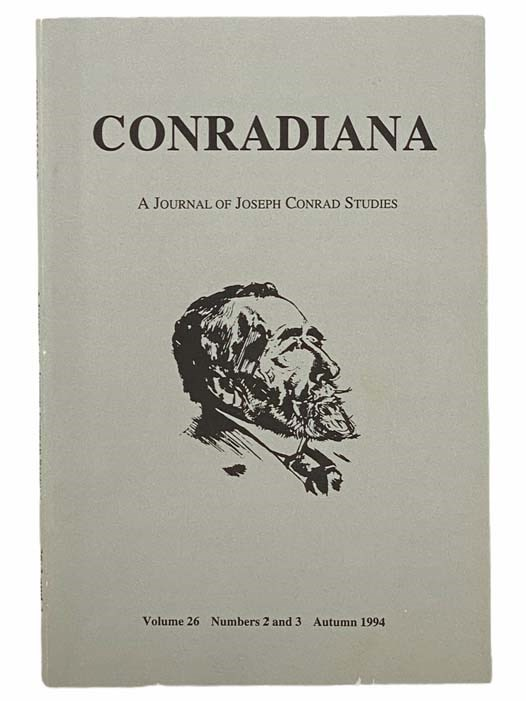 Image for Conradiana: A Journal of Joseph Conrad Studies (Volume 26, Numbers 2 and 3, Autumn 1994)