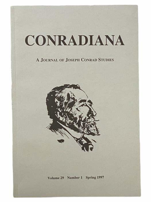 Image for Conradiana: A Journal of Joseph Conrad Studies (Volume 29, Number 1, Spring 1997)
