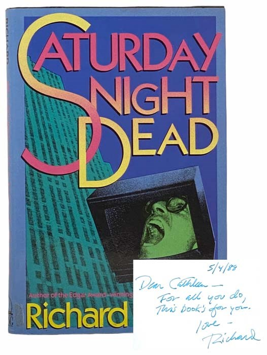 Image for Saturday Night Dead (The Harvey Blissberg Mysteries, Book 3)