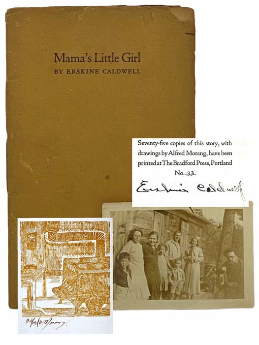 Image for Mama's Little Girl: A Brief Story [with] 2 1/2 x 3 1/2 Photograph of Author and Family