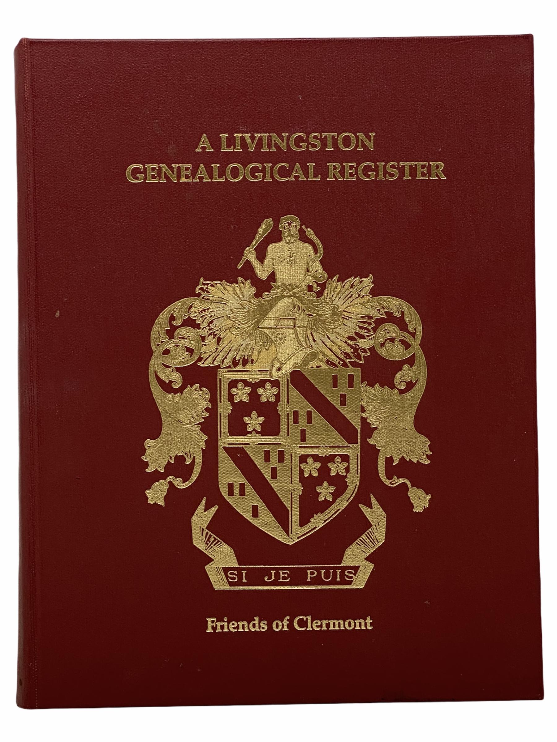 Image for A Livingston Genealogical Register [New York]