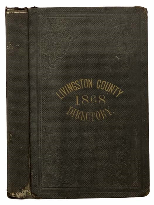 Image for New Gazetteer and Business Directory, for Livingston County, N.Y., for 1868 [New York]