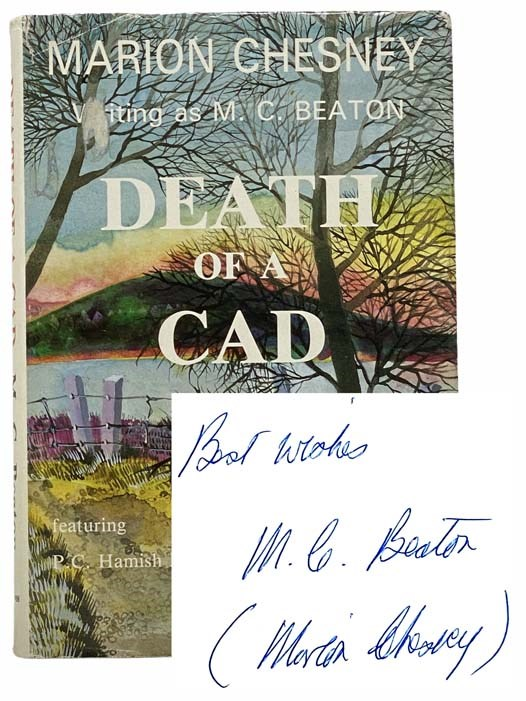 Image for Death of a Cad (Hamish Macbeth Mysteries, Book 2) (A Charles Bravos Murder Mystery)