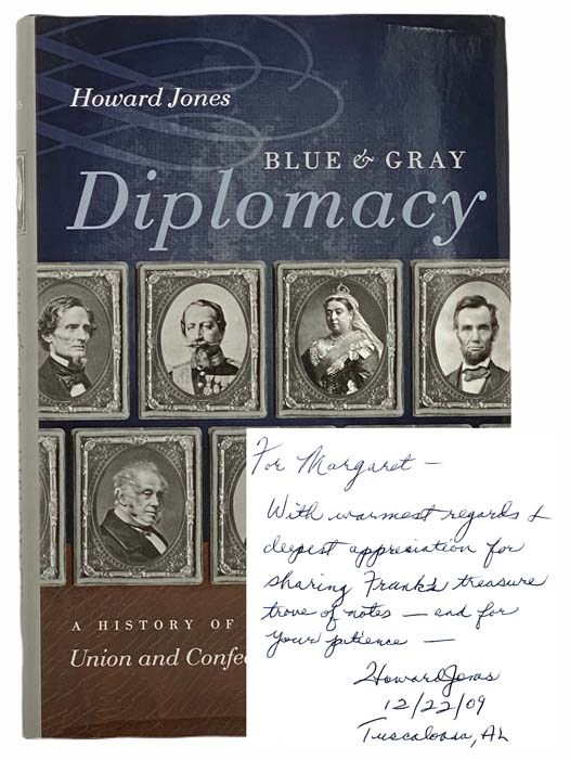 Image for Blue and Gray Diplomacy: A History of Union and Confederate Foreign Relations (The Littlefield History of the Civil War Era)