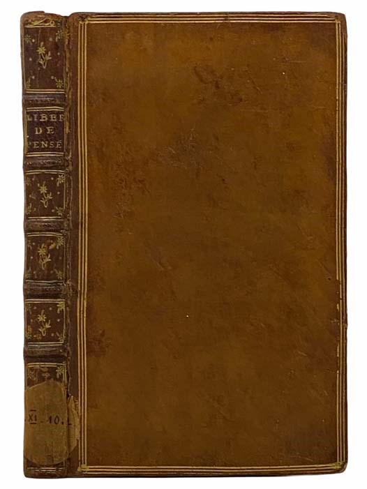 Image for Essai sur la Liberte de Produire ses Sentimens [with] Pensees sur l'Interpretation de la Nature.