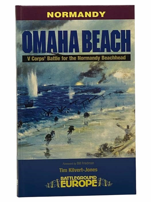 Image for Omaha Beach: V Corps' Battle for the Normandy Beachhead (Battleground Europe - Normandy)