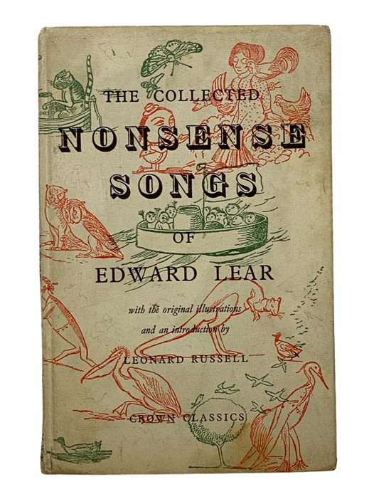 Image for The Collected Nonsense Songs of Edward Lear (Crown Classics)