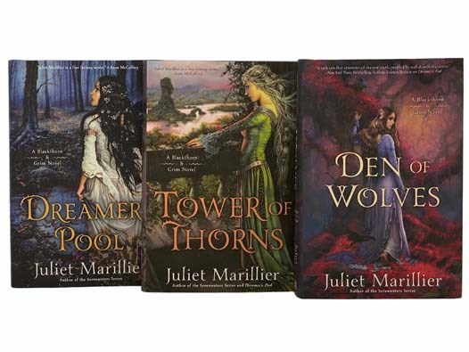 Image for Dreamer's Pool; Tower of Thorns; Den of Wolves (Blackthorn and Grim) (Three Volume Set)