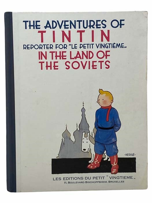 Image for The Adventures of Tintin, Reporter for Le Petit Vingtieme in the Land of the Soviets [Tin Tin]