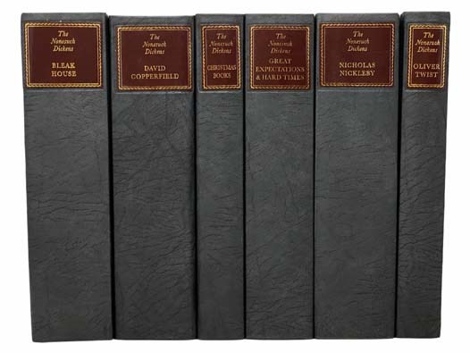 Image for The Nonesuch Dickens 6-Volume Boxed Set: Bleak House; Christmas Books; David Copperfield; Great Expectations / Hard Times; Nicholas Nickleby; Oliver Twist (A Facsimile Edition of the 1930s Nonesuch Dickens)