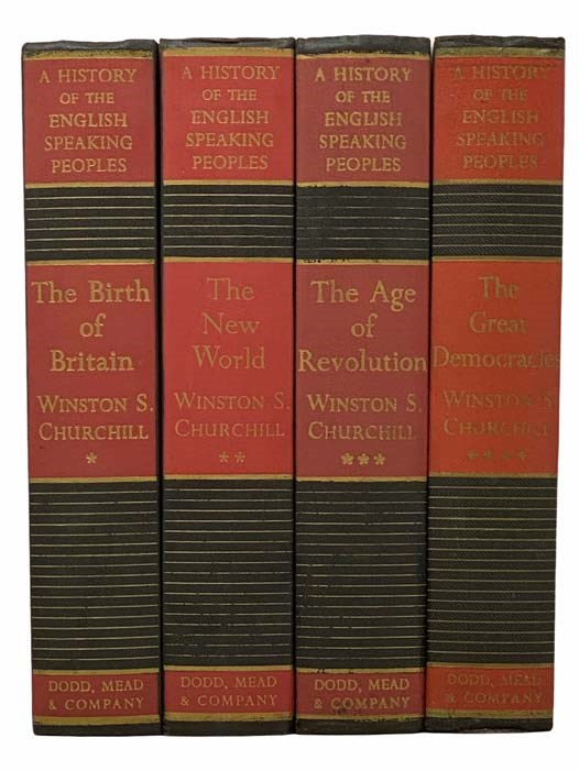 Image for A History of the English-Speaking Peoples Four Volume Set: The Birth of Britain, The New World, The Age of Revolution, The Great Democracies