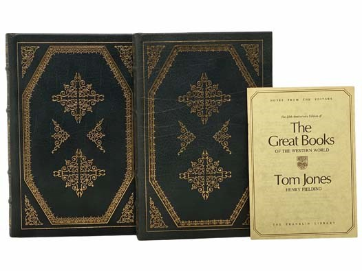Image for The History of Tom Jones, a Foundling, in Two Volumes (The 25th Anniversary Edition of The Great Books of the Western World)