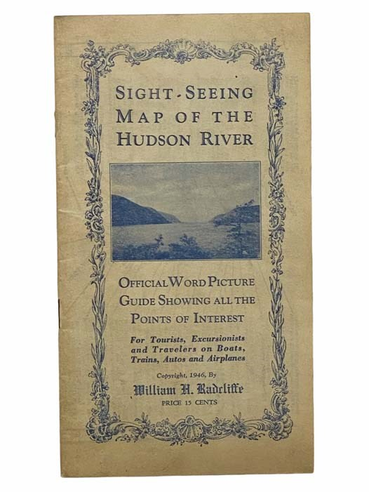 Image for Sight-Seeing Map of the Hudson River: Official World Picture Guide Showing All the Points of Interest