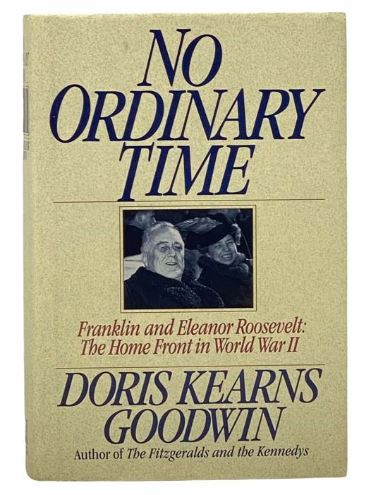 Image for No Ordinary Time: Franklin & Eleanor Roosevelt: The Home Front in World War II