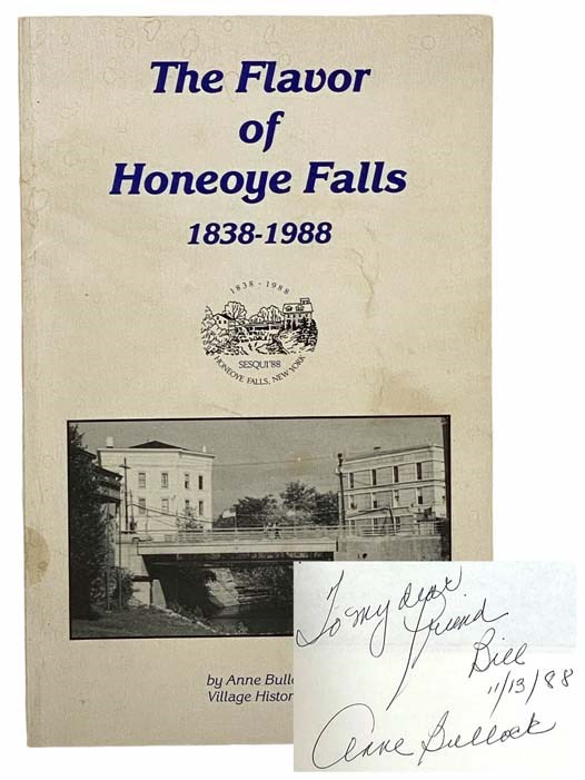 Image for The Flavor of Honeoye Falls, 1838-1988