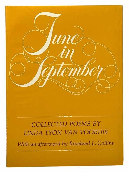 Image for June in September: Collected Poems by Linda Lyon Van Voorhis