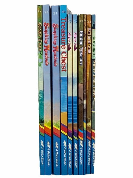 Image for Collection of 10 Christian Chapter Books: 2nd Grade English Curriculum (Growing Up Where Jesus Lived; Paths of Gold; Sunshine Meadows (2x Copies); No Longer A Nobody; Treasure Chest; Hidden Treasure; Story Tree; Silver Sails (2x Copies)