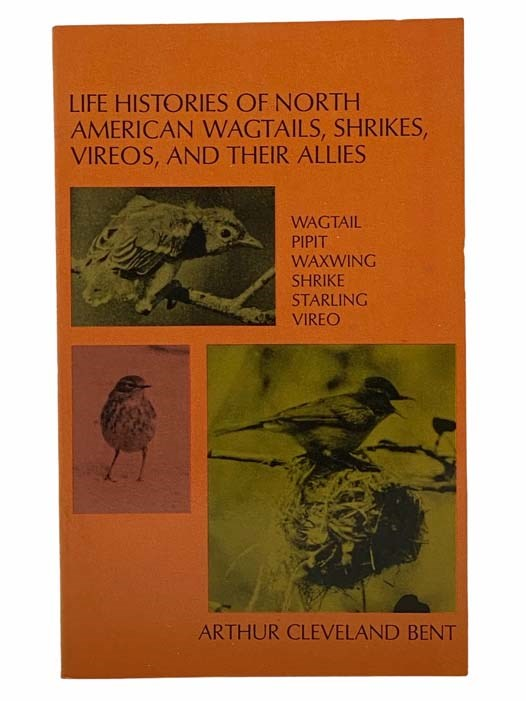 Image for Life Histories of North American Wagtails, Shrikes, Vireos, and Their Allies: Wagtail; Pipit; Waxwing; Shrike; Starling; Vireo (Dover Books on Birds)