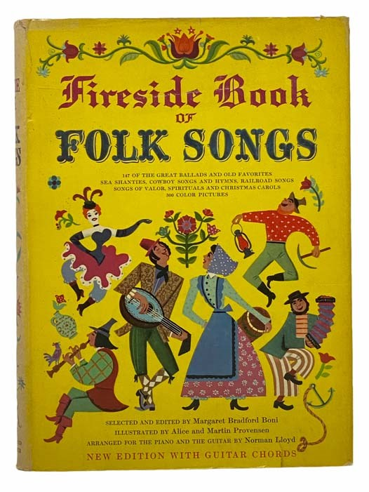 Image for Fireside Book of Folk Songs: New Edition with Guitar Chords