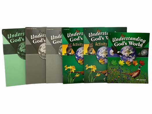 Image for Understanding God's World: Fourth Edition - Abeka 4th Grade Science Curriculum 6-Volume Set (Understanding God's World Textbook; Activity Book; Activity Book Key; Quizzes & Tests; Quiz/Test Key; Answer Key)