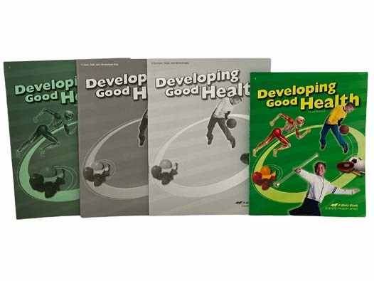 Image for Developing Good Health: Third Edition - Abeka 4th Grade Health Curriculum 4-Volume Set (Developing Good Health Textbook; Quizzes, Tests, And Worksheets; Quiz, Text, and Worksheet Key; Answer Key)