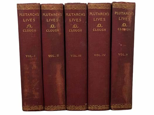 Image for Plutarch's Lives: The Translation Called Dryden's, Corrected from the Greek and Revised, in Five Volumes