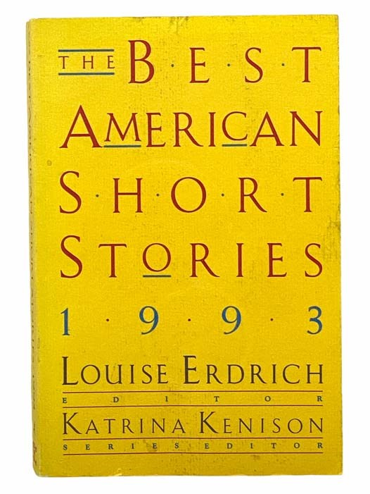 Image for The Best American Short Stories 1993