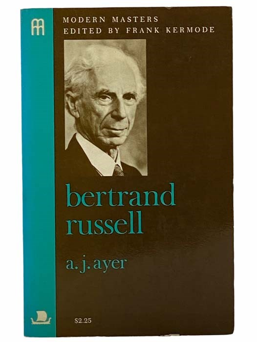 Image for Bertrand Russell (Modern Masters)