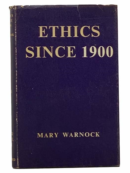 Image for Ethics Since 1900 (The Home University Library of Modern Knowledge, No. 243)