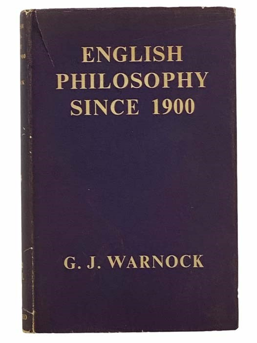 Image for English Philosophy Since 1900 (The Home University Library of Modern Knowledge, No. 234)
