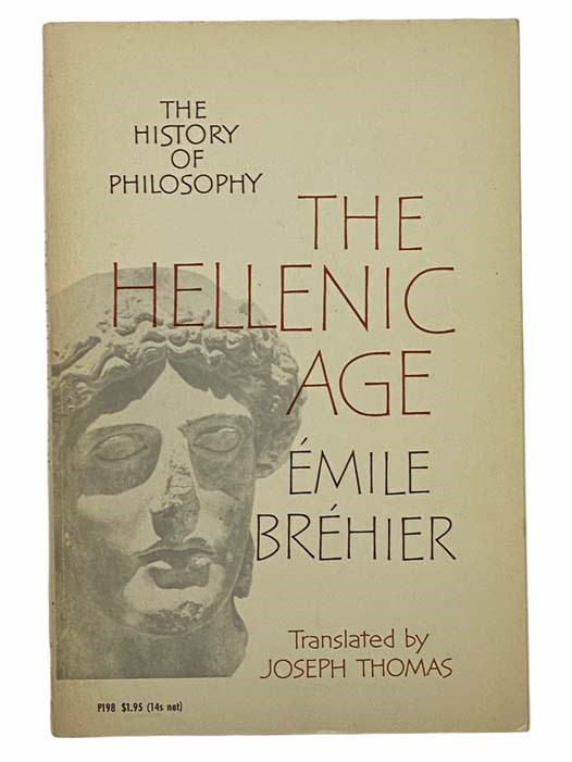 Image for The Hellenic Age (The History of Philosophy)