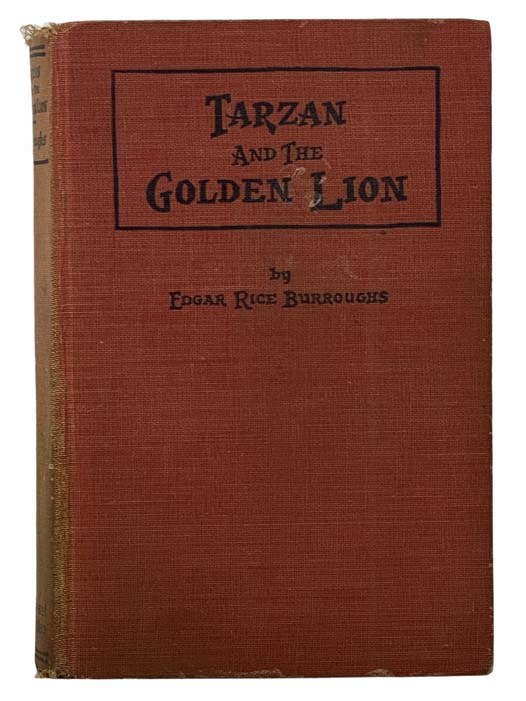 Image for Tarzan and the Golden Lion (Tarzan Series Book 10)