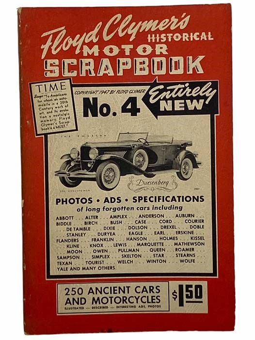 Image for Floyd Clymer's Historical Motor Scrapbook, Number 4