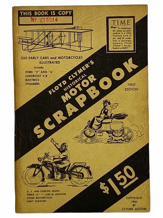 Image for Floyd Clymer's Historical Motor Scrapbook