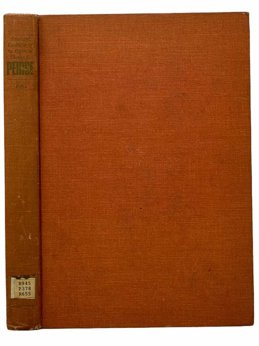 Image for Annotated Catalogue of the Papers of Charles S. Peirce [Catalog]
