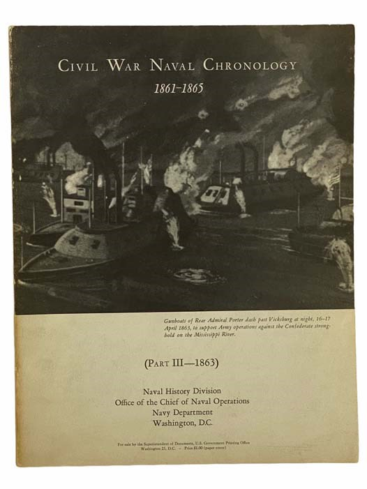 Image for Civil War Naval Chronology, 1861-1865 (Part III--1863)