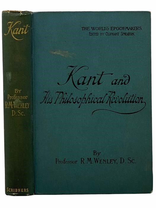 Image for Kant and His Philosophical Revolution (The World's Epoch-Makers)