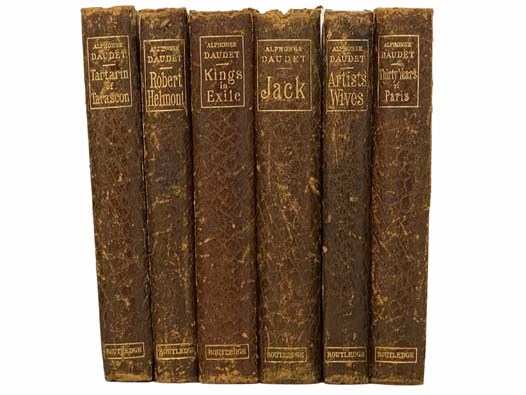 Image for Thirty Years of Paris and of My Literary Life; Artists' Wives; Jack; Kings in Exile; Robert Helmont: Diary of a Recluse, 1870-1871; Tartarin of Tarscon: Traveller, Turk, and Lion-Hunter (Six Volume Set)