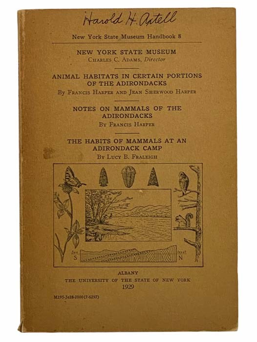 Image for Habits of Adirondack Mammals (New York State Museum Handbook 8)