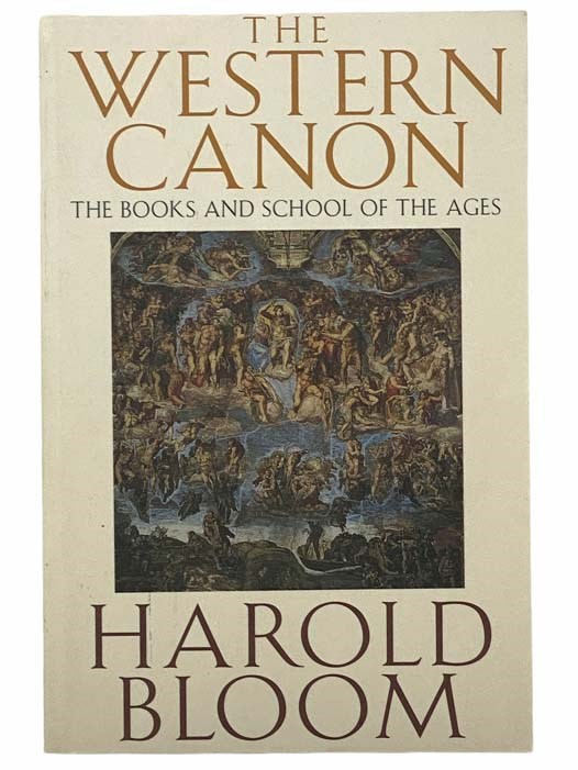Image for The Western Canon: The Books and School of the Ages