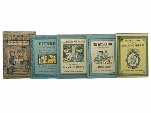 Image for Nutshell Library: Pierre: A Cautionary Tale; Alligators All Around: An Alphabet; One Was Johnny: A Counting Book; Chicken Soup with Rice: A Book of Months