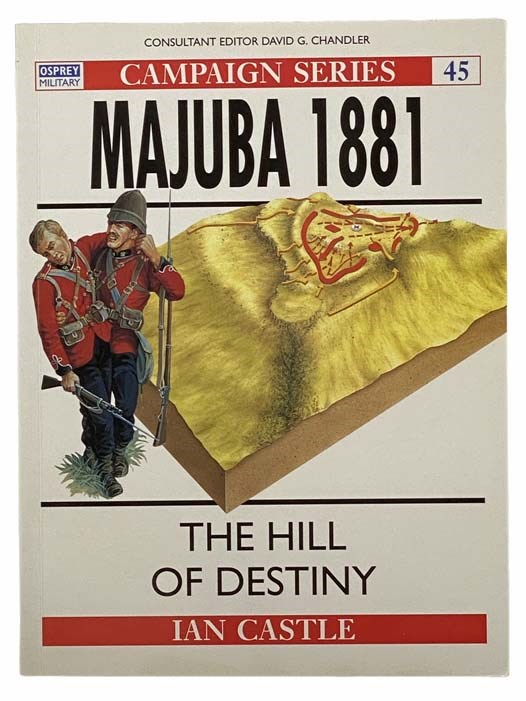 Image for Majuba, 1881: The Hill of Destiny (Campaign Series, No. 45)