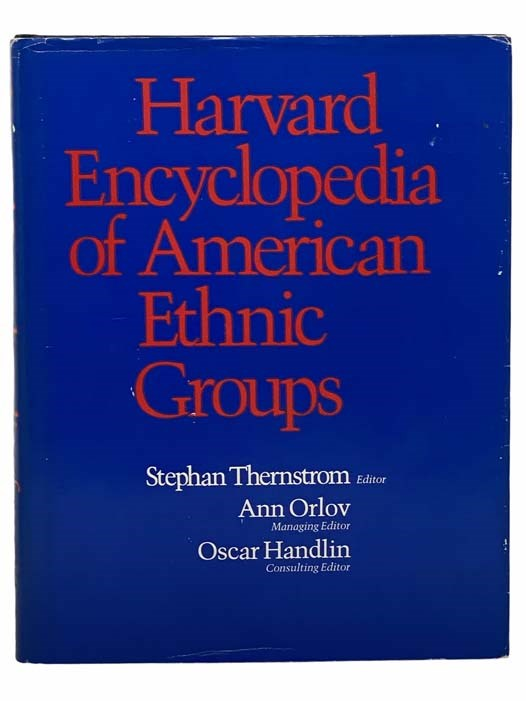 Image for Harvard Encyclopedia of American Ethnic Groups